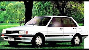 1982 Toyota Corolla Hatchback Toyota Corolla Sedan Jp Spec U00271983 U201387 Youtube