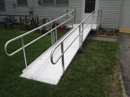 metal wheelchair ramp contractor in kansas city access remodel