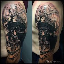 chest tattoo art for coal mine pictures to pin on pinterest