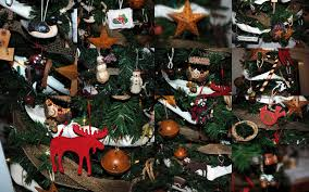rustic maple living room christmas tree canadiana christmas stop