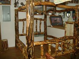 Pictures Of Log Beds by Hand Made Gnarly Aspen Log Canopy Bed By Ireland U0027s Wood Shop