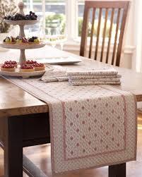marseille print table runner williams sonoma