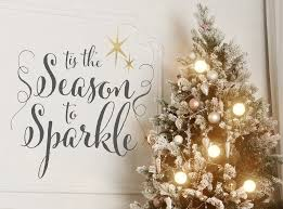 merry bright the christmas collection archives wall decals christmas wall sticker tis the season to sparkle
