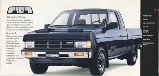 blue nissan truck 1988 nissan trucks genuine accessories brochure nicoclub