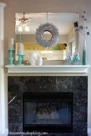 Mantel Decor Fireplace Mantle Decorations Diy Painted Letter Home Decor