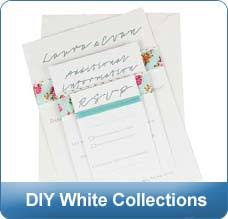 Blank Wedding Invitations Wedding Invitations Blank Cards Pearl The Paperbox
