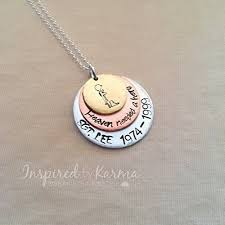 personalized memorial necklace personalized memorial necklace personalized