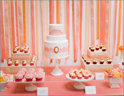 bridal shower table decorations wedding shower table decorations ideas