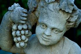 bacchus statue wine wired