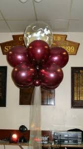 balloon garland by signature balloons party crafts banners