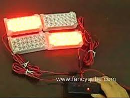 strobe light light bulb 4 22 led car truck flashing strobe lights bulbs police fire youtube