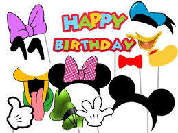 mickey mouse photo booth mickey mouse friends birthday magical printable