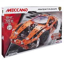 meccano kit set lamborghini aventador construction original spin
