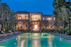 Largest Homes In America by Hadid Design U0026 Development Group Crescent Drive Beverly Hills