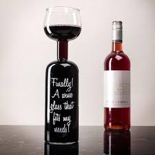 Wine Glass Wine Bottle Glass Finally A Wine Glass That Fits My Needs