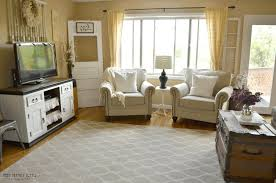 Cottage Living Room Cottage Living Room Furniture Beige Geometric Treasure Box Area
