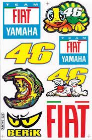 motocross bike stickers amazon com valentino rossi 46 graphic sticker decal atv dirt 1
