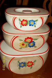 Vintage Kitchen Canisters 302 Best Canisters Images On Pinterest Vintage Canisters