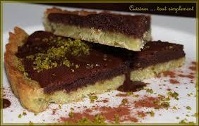 que faire avec un de cuisine the tarte au chocolat avec pâte sablée à la pistache cuisiner