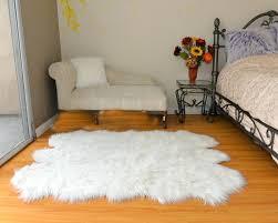 White Fur Area Rug White Fur Area Rug Faux Ikea Bed Design Plans Tufted Headboard