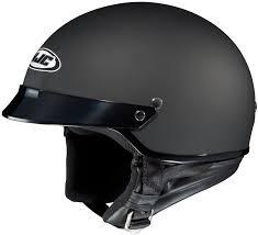 amazon com hjc helmets cs 2n helmet flat black large automotive