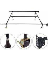 King Bed Frame Heavy Duty Great Deals On Ktaxon Adjustable King Bed Frame Heavy Duty