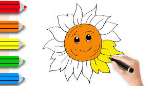 coloring pages for kids with coloring pages the sun drawing for