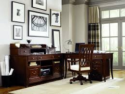 2 Person Desk For Home Office by Home Office Masculine Two Toned Grand Style Home Office Desk By