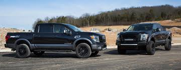 nissan trucks lifted nissan showcases accessories for new titan xd at chicago photo