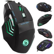 black friday gaming mouse jwfy seven buttons usb wired gaming mouse with led mice gaming