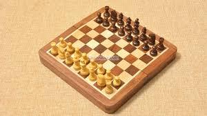 travel chess set images Buy folding magnetic chess set in sheesham box wood online jpg