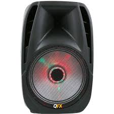 Party Speakers With Lights Qfx Portable Bluetooth Party Speaker With Led Pbx 71100btl B U0026h