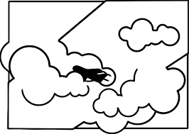 airplane coloring wecoloringpage