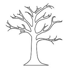 Top 25 Tree Coloring Pages For Your Little Ones Tree Coloring Pages