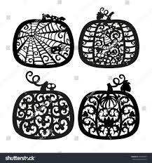 vector halloween jack o lantern pumpkin stock vector 475049857