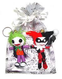 amazon com joker u0026 harley quinn 2pcs set voodoo string doll