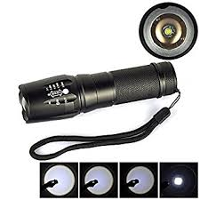 le torche cree powerful 5 mode focus 5000 lumens cree xml t6 led 18650 flashlight