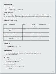resume sample career objective simple software engineer resume