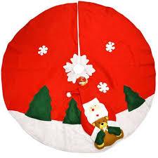 tappeti natalizi tappeto natalizio copribase per albero di natale modelli assortiti