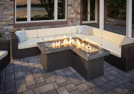 alderbrook faux wood fire table outdoor curved fire pit bench wood burning table alderbrook faux gas