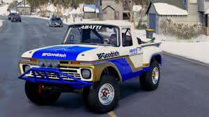rally truck build forza horizon 3 1966 ford f 100 flareside trophy truck youtube