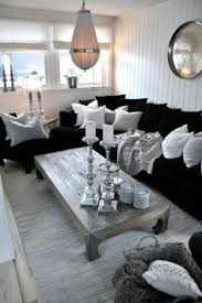 Best Black And Silver Living Room Ideas Images On Pinterest - Black white and silver bedroom ideas