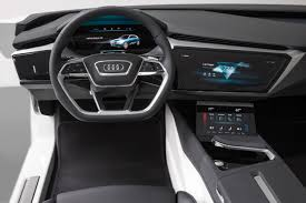 future mercedes interior audi q6 e tron shows off future interior design