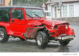 jeep cars red auto transport crashed jeep stock photo i1467906 at featurepics