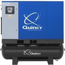 qgs 15 hp rotary air compressor quincy compressor