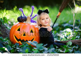 Girls Pumpkin Halloween Costume Kids Halloween Costumes Stock Images Royalty Free Images