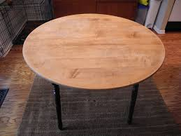 Wood Table Refinishing Librarian Tells All Kitchen Table Makeover Stripping And