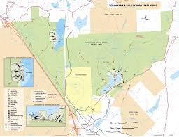State Park Map by Tobyhanna State Park Maplets