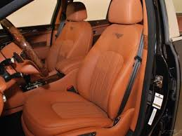 Saddle Interior 2012 Bentley Mulsanne Beluga With Saddle Interior
