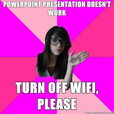 Idiot Nerd Girl Meme - image 53859 idiot nerd girl know your meme
